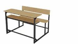 Wooden School Benches