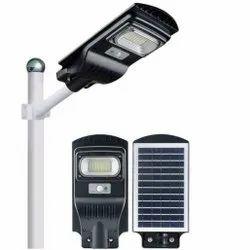 10 W All In One Solar LED Street Light