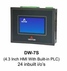 PLC With 4.3 Inch Touch Screen HMI