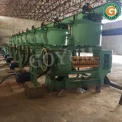 Groundnut Oil Mill Plant