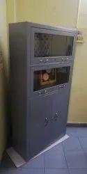 Steel Book Cabinet