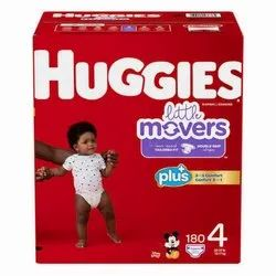 Nonwoven Disposable Original Diaper Huggies , Monthly Supply, Medium, Age Group: 3-12 Months