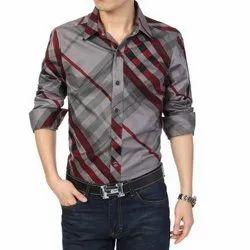 Linen Collar Neck Mens Shirt