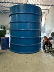 frp anaerobic septic tank underground