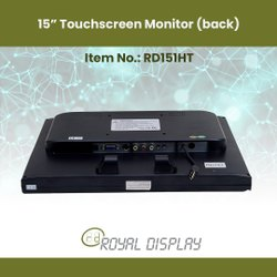 15'' Touchscreen Monitors (RD151HT)