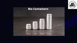 Bio Homeopathic Tablet Container