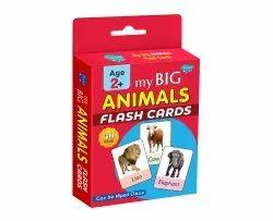 Flash Card My Big Animals Flash Card