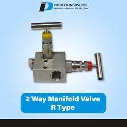 2 Way Manifold Valve R Type