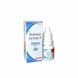 Zalmox Eye Drops   Moxifloxacin 0.5%w/v