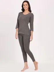 Grey Ladies Thermal Wear