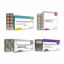 Azithromycin 100mg, Azithromycin 250mg, Azithromycin 500mg, Azithromycin 1000mg