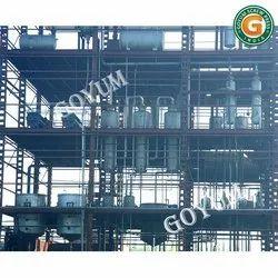 Continuous Edible Oil Refinery Plant