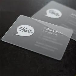 PVC Printed Business Card