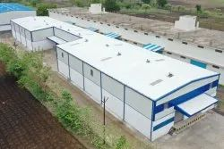 Steel Cold Storage Shed