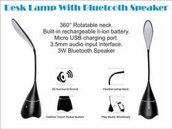 Desk Lamp Bluetooth Speaker