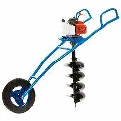 BVS trolley type eath auger