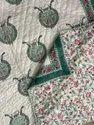 Jaipuri Hand Block Print Cotton Quilt