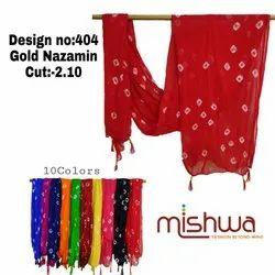 Gold Nazamin Dupatta
