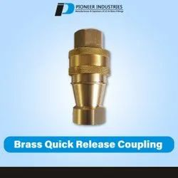 Quick Brass Release Coupling