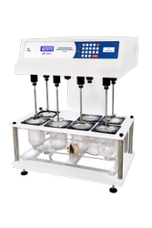 Touch Screen Microprocessor Dissolution Test Apparatus (Eight Basket)