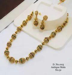 Gold Wedding Traditional Antique Mala