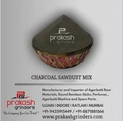 Charcoal Sawdust Mix Powder, For in Making Agarbatti, Packaging Type: 50 KG PP Bags