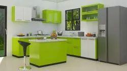 Modern Center Modular Kitchen