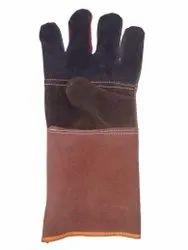 Plain Multi colour Leather Hand Gloves