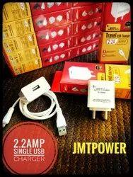 2.2 Amp JMT Power Single USB Travel Charger
