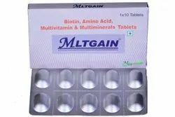 Biotin Amino Acid Vitamins Minerals Tablets, 1*10