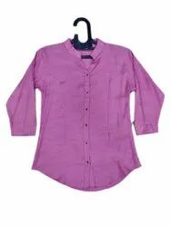 Reya Fashion Rayon Ladies Formal Shirt, Size: M,L