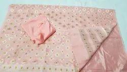 Anarkali Semi-Stitched Unstitched Salwar Suit, Handwash