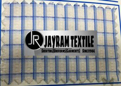 Central Chex Uniform Fabric