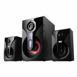 Black Wooden Altec Lancing Speaker 2.1