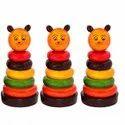 Rainbow Tower Ring Plastic Toy