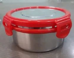Stainless Steel Lunch Box With Clip Lock
