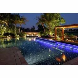 fiber optical swimming pool floor led lights