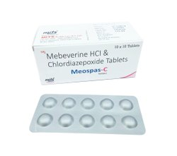 Mebeverine Hydrochloride And Chlordiazepoxide Tablets