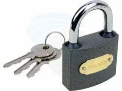Silver Main Door Anoop Iron Safety Padlocks, Padlock Size: 65 mm