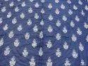 Indigo Blue Double Reversible Kantha Quilt