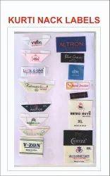 Kurti Neck Label