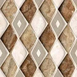 Ceramic Mosaic Glossy Digital Floor Tiles, For Home, Thickness: 10 mm