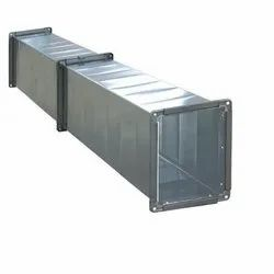 Rectangular Galvanized Iron Duct, For Industrial