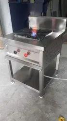 Stainless Steel Shweta Steel Art  Single Burner Gas Range