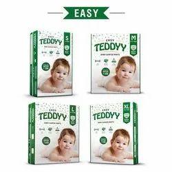 TEDDYY COTTON,NONWOVEN Teddy Baby Diaper Pants Super Newborn 5'S
