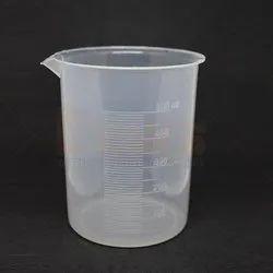 Plastic Cylindrical Beaker Euro Design 500ml, For Measuring