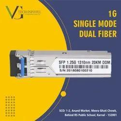 20km 1.25g 1310 Single Mode Dual Fiber LC SFP Module - Single