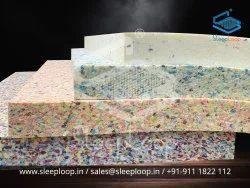 Polyurethane Multicolor Bonded Foam