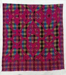 Women Casual Wear Ladies Printed Acrylic Shawl, Size: 40x80 Inch (wxl)
