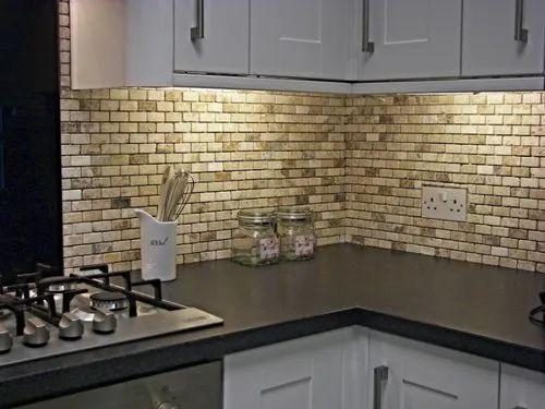 Kajaria Ceramic Mosaic Kitchen Wall Tile Thickness 12 Mm Rs 50 Square Feet Id 23185877748